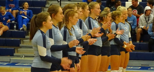 Louisville Leopards Volleyball 2017 Pregame Lineup