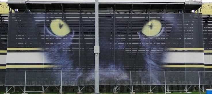 Perry Panthers Stadium Wrap