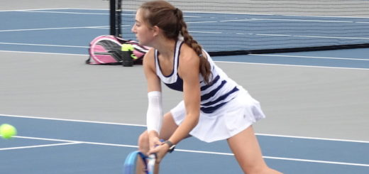 Tori Esposito Louisville Leopards Girls Tennis 2017 Vs. Aquinas
