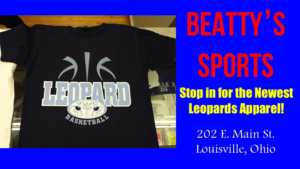 Louisville Leopards Basketball Navy Blue Shirt - Beatty's Sports 2017