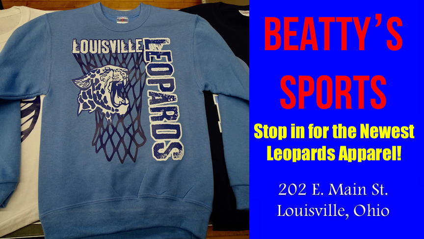 Louisville Leopards Basketball Net Light Blue Long Sleeve - Beatty's Sports 2017
