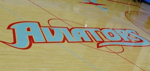 Alliance Aviators Center Court Logo