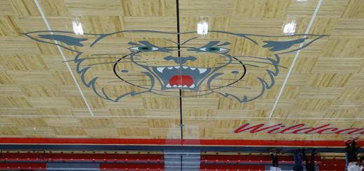 Canton South Wildcats New Gym Floor