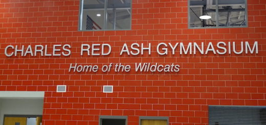 The New Charles Red Ash Gymnasium