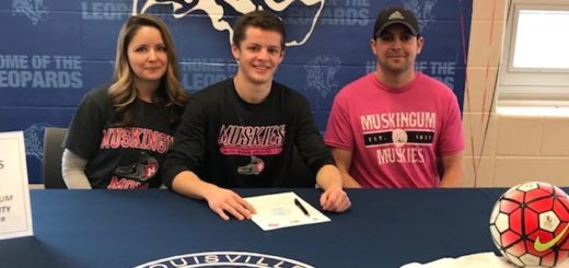 Bailey Adams College Signing Muskingum Men's Soccer
