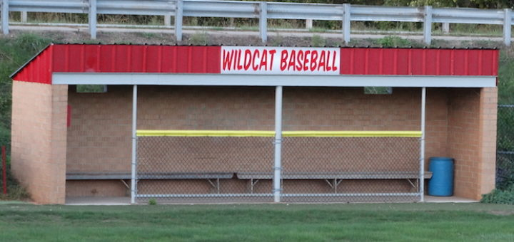 Canton South Wildcats Baseball Dugout at Tim Miller Field