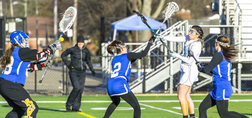 Haley Black Louisville Leopards Vs. Lake Blue Streaks Girls Lacrosse 2018
