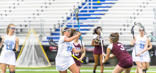 Katie Hollifield Louisville Leopards Vs. Boardman Spartans Girls Lacrosse 2018