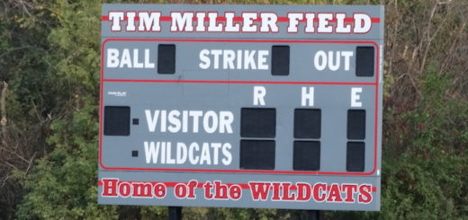 Tim Miller Field Scoreboard - Canton South Wildcats Baseball
