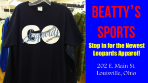 's Sports - Go Leopards Baseball Shirt