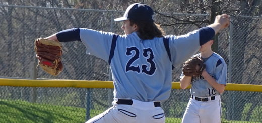 Eddie Budinski Louisville Leopards Baseball 2018 Vs. Lake Blue Streaks
