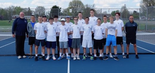 Louisville Leopards Boys Tennis 2018 NBC Champions