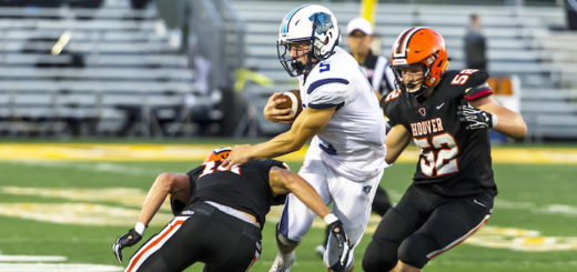 Max Hartline Louisville Leopards at North Canton Hoover Vikings Football 2018