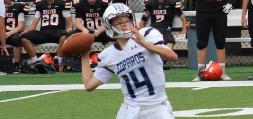 Tyler Jackson Louisville Leopards JV Football Vs. North Canton Hoover Vikings 2018