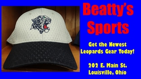 Beatty's Sports White Hat Ad