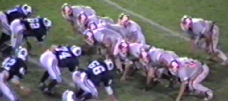 Thornville Sheridan Generals Vs. Louisville Leopards 1999 Football Playoffs