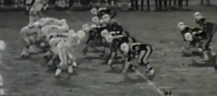 Perry Panthers Vs. Louisville Leopards 1970 Football Highlights