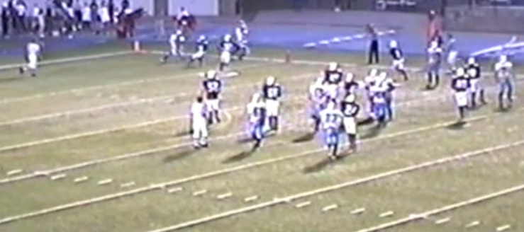 Ravenna Ravens Vs. Louisville Leopards 2002 Football Highlights