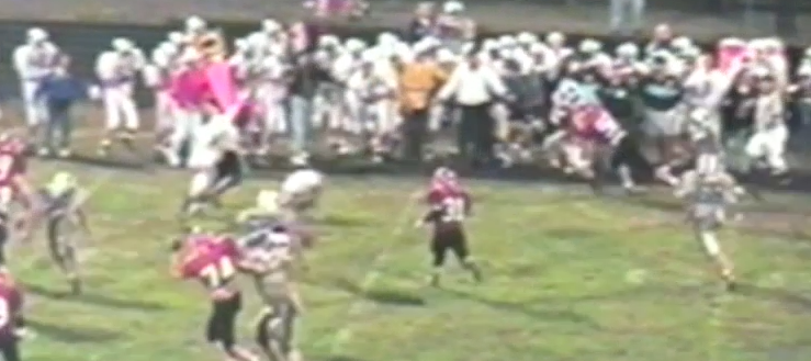 Kent Roosevelt Rough Riders Vs. Louisville Leopards 1995 Football Highlights