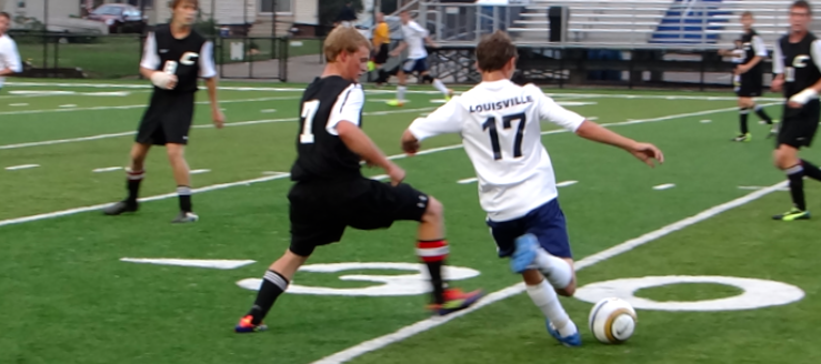 Brennan Seemann Louisville Leopards Boys Soccer