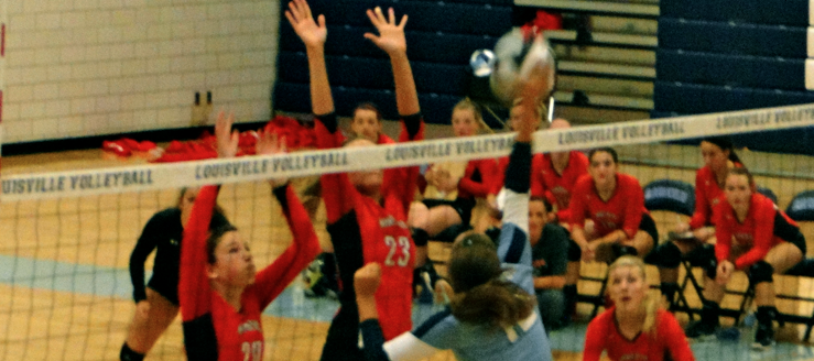 Louisville Lady Leopards Volleyball