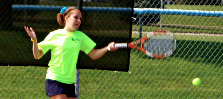 Alexis Isla Louisville Lady Leopards Girls Tennis