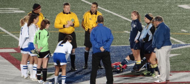 Louisville Leopards Vs. Lake Blue Streaks Girls Soccer Tournament 2013